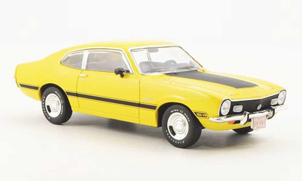 Ford Maverick 1/43 Premium X GT jaune 1974 miniature