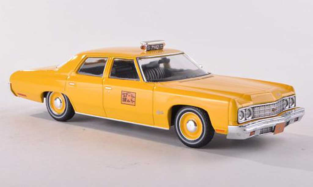 Chevrolet Bel Air 1973 1/18 Premium X New York Taxi miniature