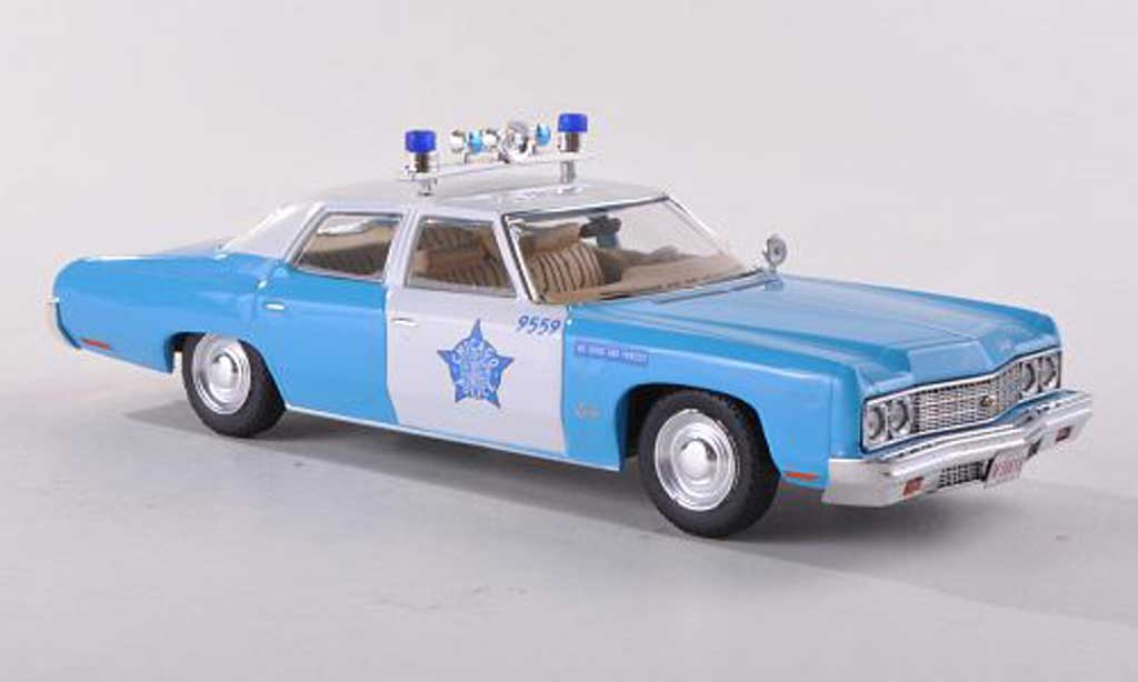 Chevrolet Bel Air 1973 1/43 Premium X Chicago Police miniature