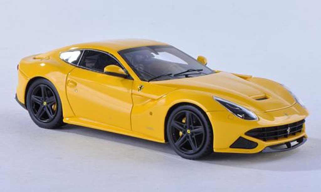 Ferrari F12 1/43 Fujimi Berlinetta yellow  2012 diecast
