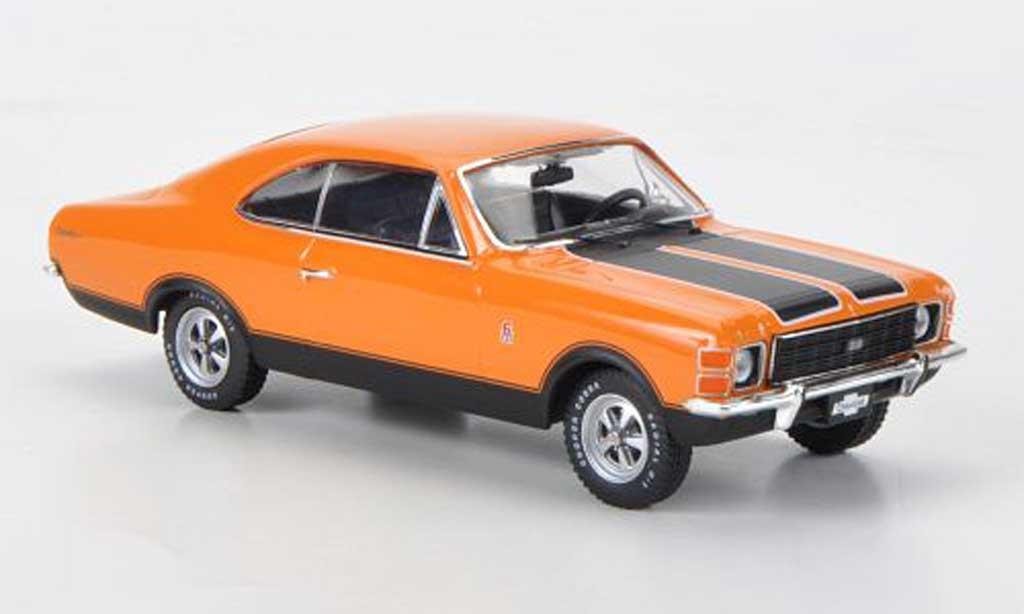 Chevrolet Opala 1/43 Premium X SS orange/mattnoire 1976 miniature