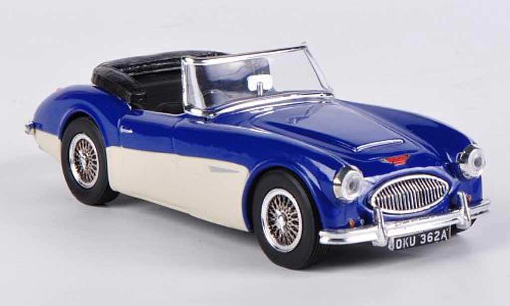 Austin Healey 3000 1/43 Vitesse offen Ozean bleu/ivory miniature