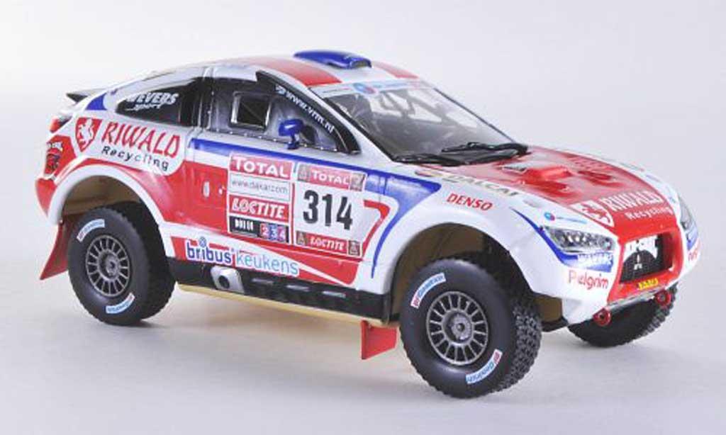 Mitsubishi Racing Lancer 1/43 Vitesse No.314 B.ten Brinke / M.Baumel Rally Dakar 2012 miniature