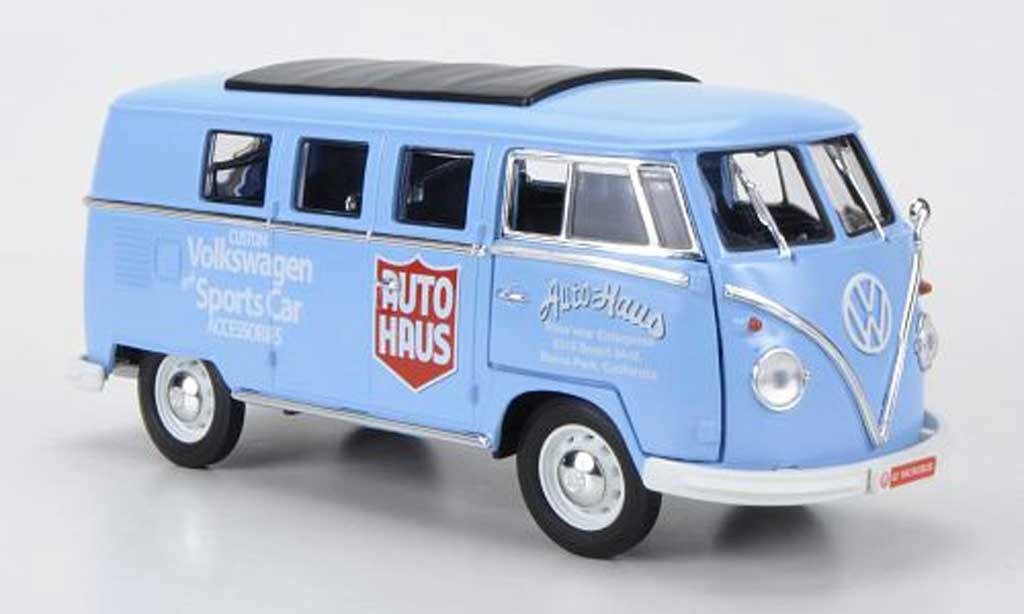 Volkswagen Combi 1/18 Greenlight T1 Samba Autohaus - Custom Volkswagen and Sports Car Accessories 1962 modellautos