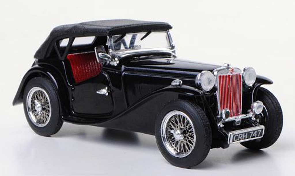 MG TC 1/43 Vitesse black RHD diecast model cars