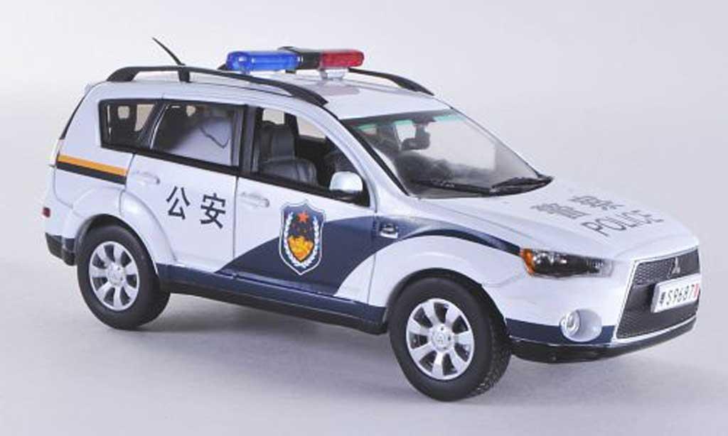 Mitsubishi Outlander 1/43 Vitesse Police Polizei China miniature