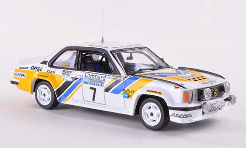 Opel Ascona B 1/43 Vitesse 400 No.7 Dealer Team RAC Rally 1980 miniature