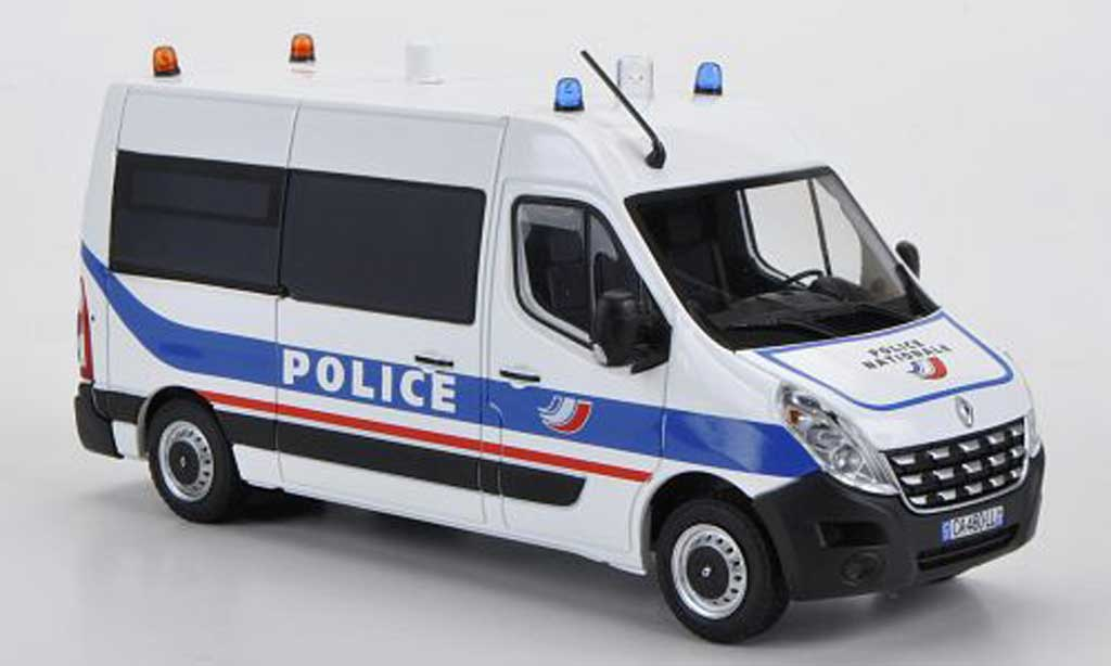 Renault Master 1/43 Eligor Police Nationale 2010 miniature