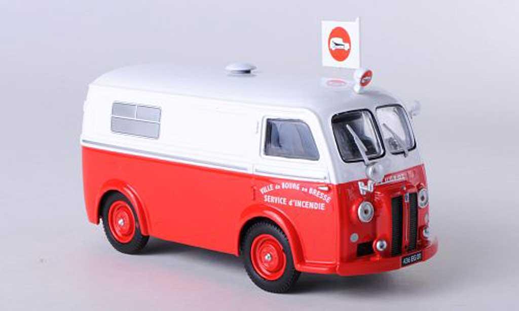 Peugeot D3 1/43 Eligor Ambulance Service d'Incendie - Ville de Bourg en Bresse RTW miniature