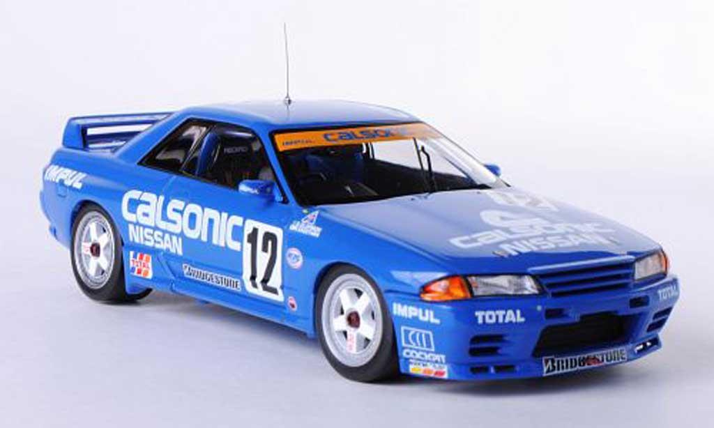 Nissan Skyline R32 1/43 HPI GT-R No.12 Calsonic A.Olofsson / M.Kageyama JTC Sugo 1993 miniature