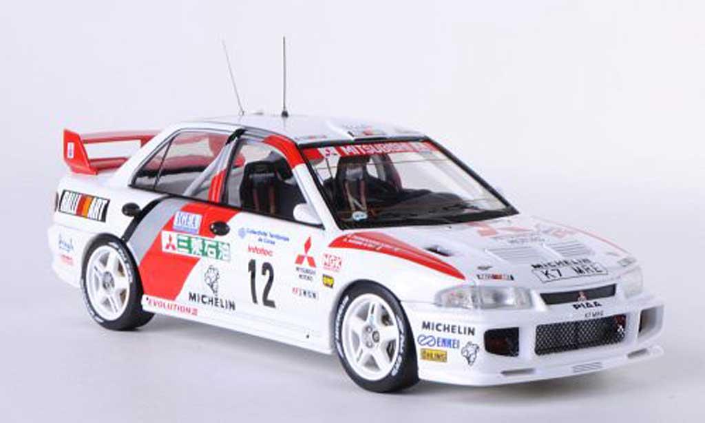 Mitsubishi Lancer Evolution III 1/43 HPI No.12 RalliArt A.Aghini / S.Farnocchia Tour de Corse 1995 miniature