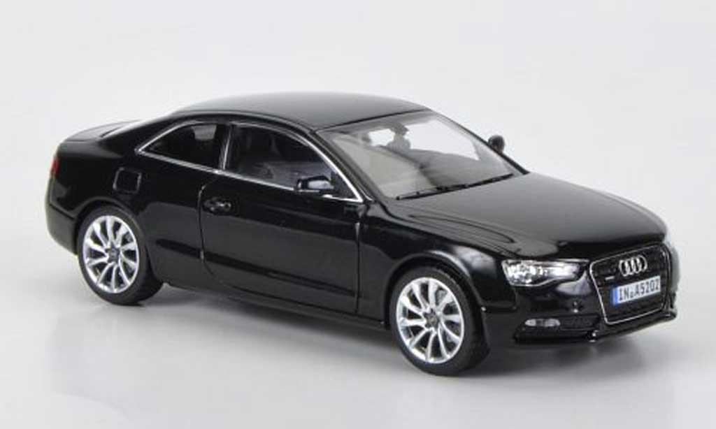 Audi A5 1/43 Norev Coupe noire 2011 miniature