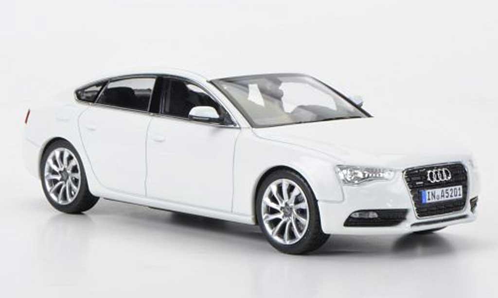 Audi A5 1/43 Norev Sportback blanche 2011 miniature