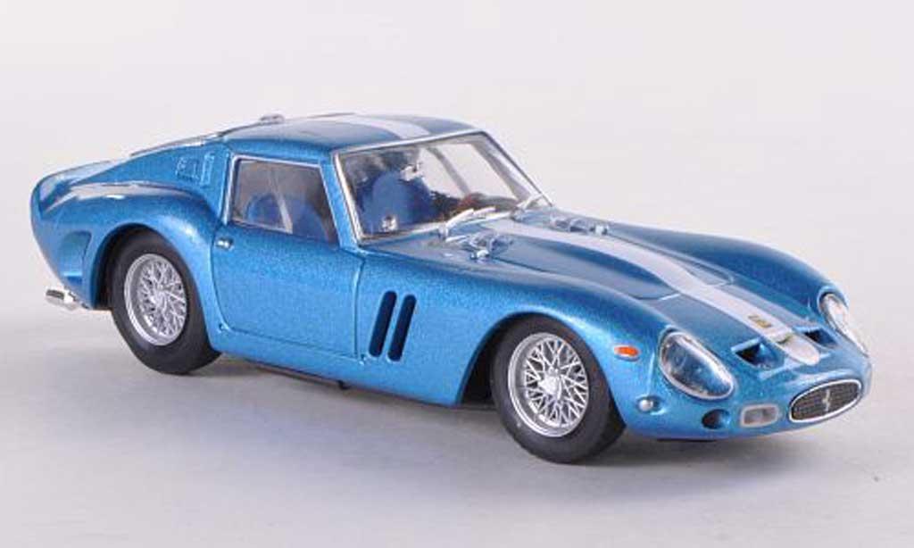 Ferrari 250 GTO 1962 1/43 Brumm met bleue (blancheer Streifen) Chinetti Motors miniature