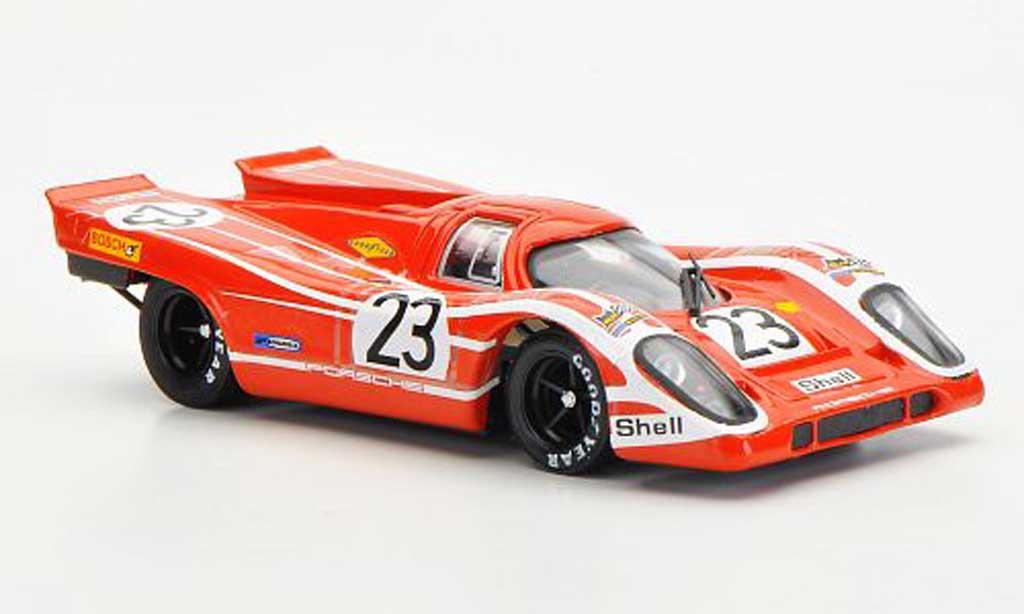 Porsche 917 1970 1/43 Brumm No.23 Salzburg Team Herrmann / Alttwood 24h Le Mans diecast model cars