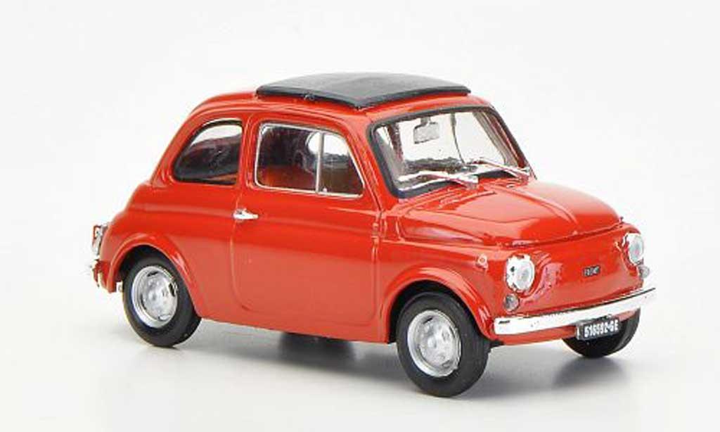 Fiat 500 R 1/43 Brumm R redbrown geschlossenes Faltdach 1972 diecast model cars