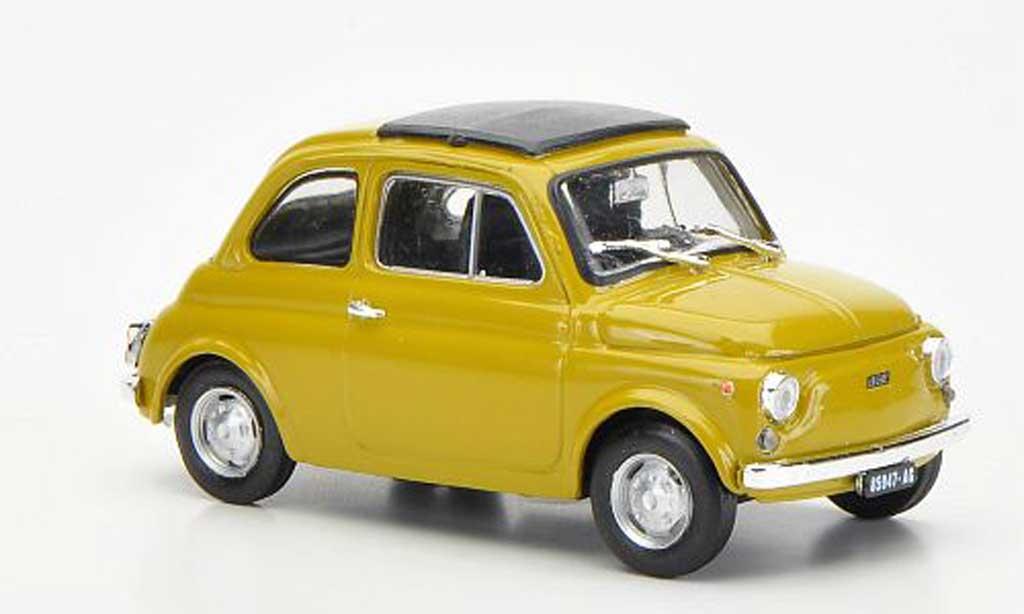 Fiat 500 R 1/43 Brumm R senf geschlossenes Faltdach 1972 miniature