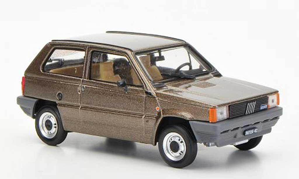 Fiat Panda 1/43 Brumm 45S marron 1982 miniature