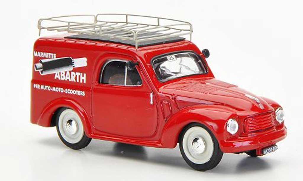Fiat 500 C 1/43 Brumm C Furgoncino Marmitte Abarth 1956 diecast model cars