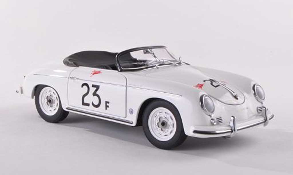 Porsche 356 1955 1/43 Autoart Speedster No.23F James Dean white diecast model cars