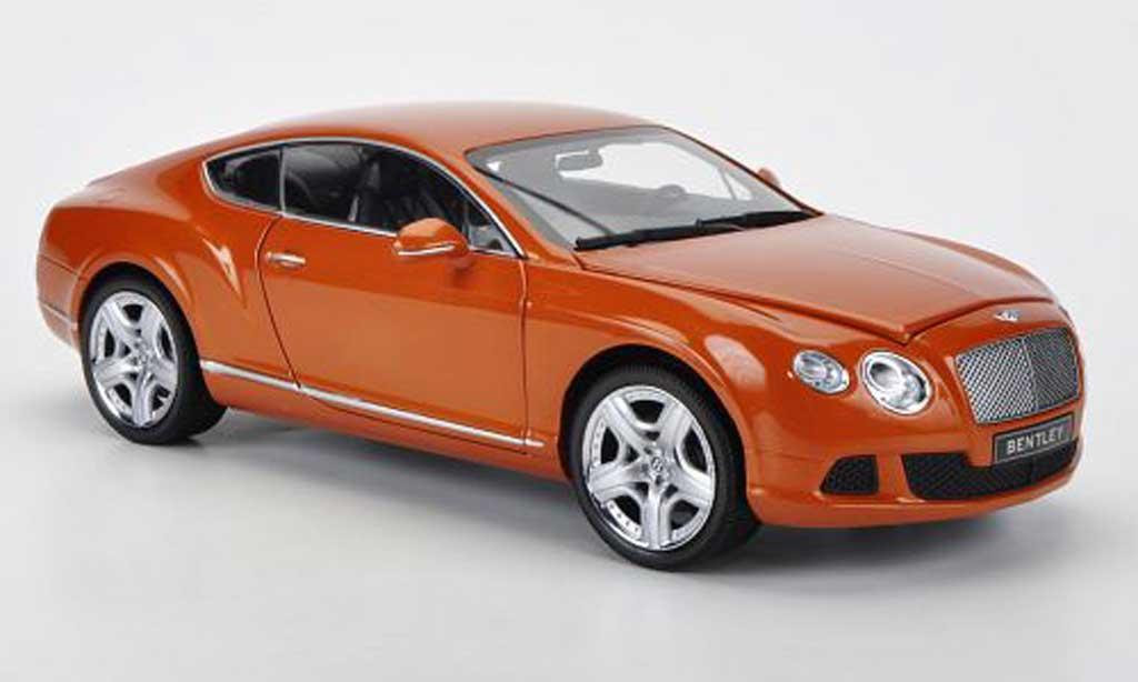 Bentley Continental GT 1/18 Minichamps orange 2011 modellautos