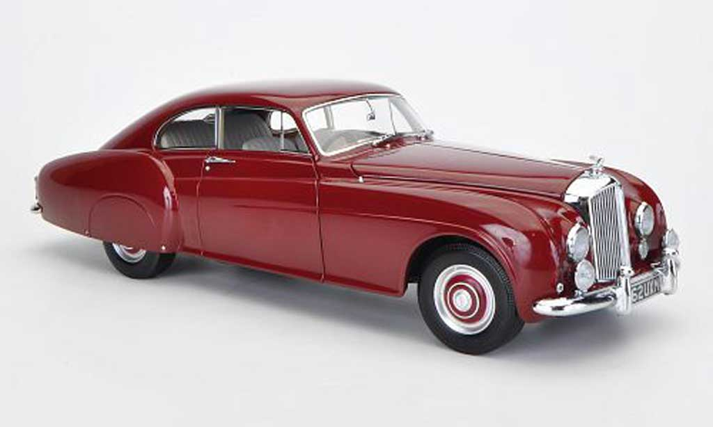 Bentley Continental GT 1/18 Minichamps R-Type red 1954 diecast model cars
