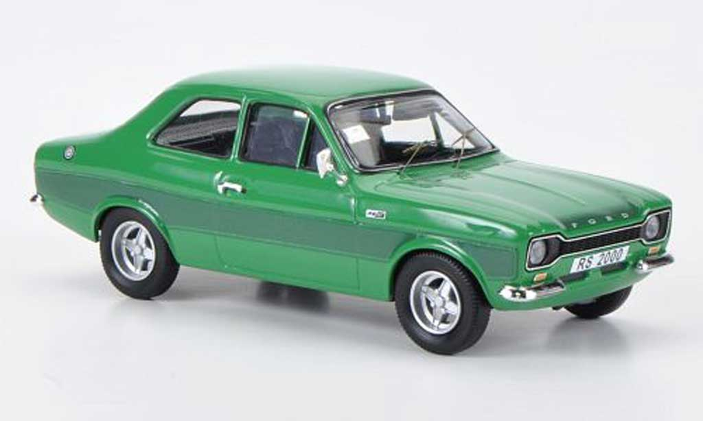 Ford Escort RS 2000 1/43 Trofeu verte RHD 1973 miniature