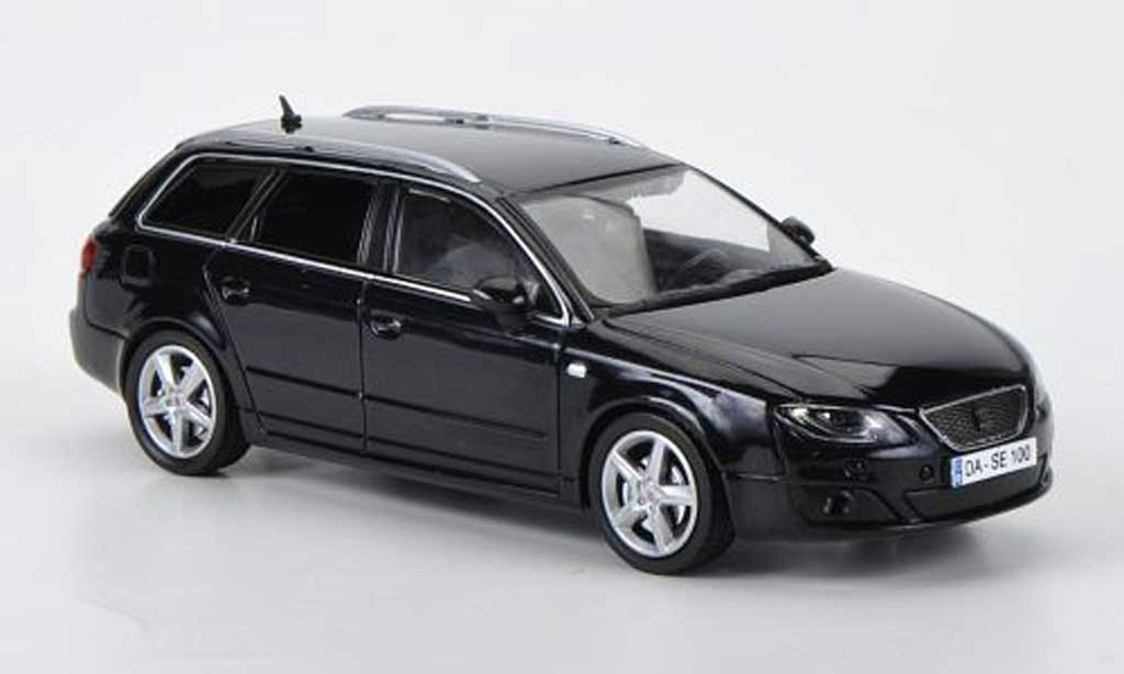Seat Exeo 1/43 Hachette ST black diecast model cars