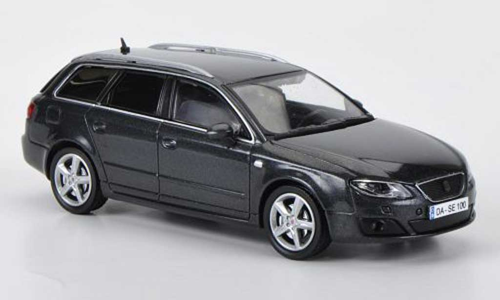 Seat Exeo 1/43 Hachette ST grey diecast model cars