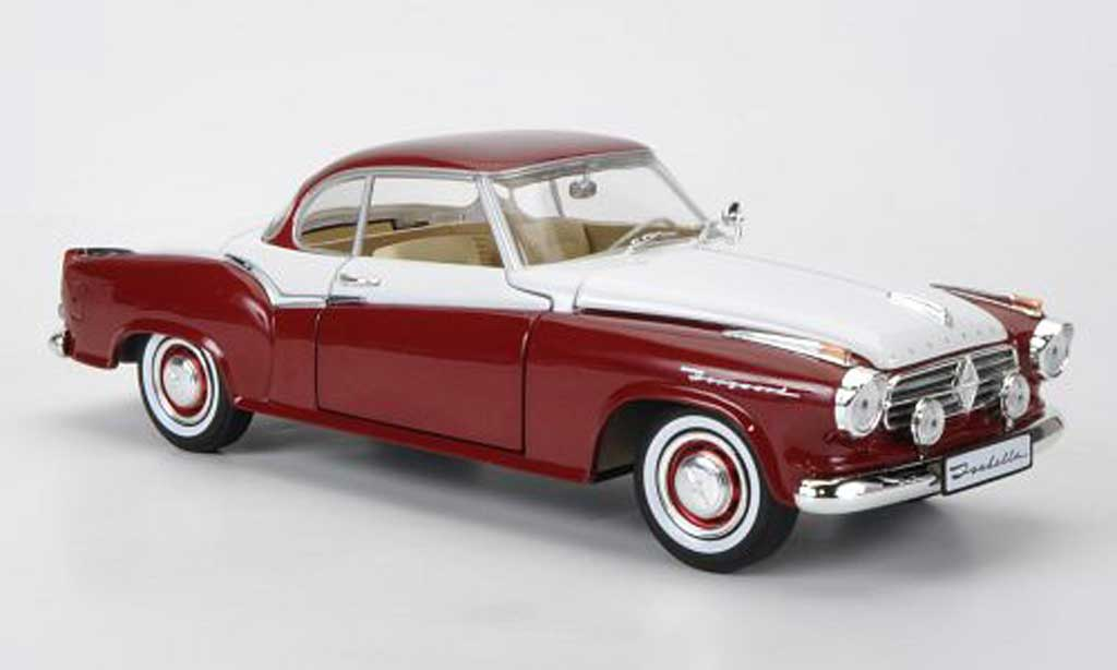 Borgward Isabella 1/18 Revell Coupe rouge/blanche Sondermodell MCW limitierte Auflage 1000 Stuck miniature