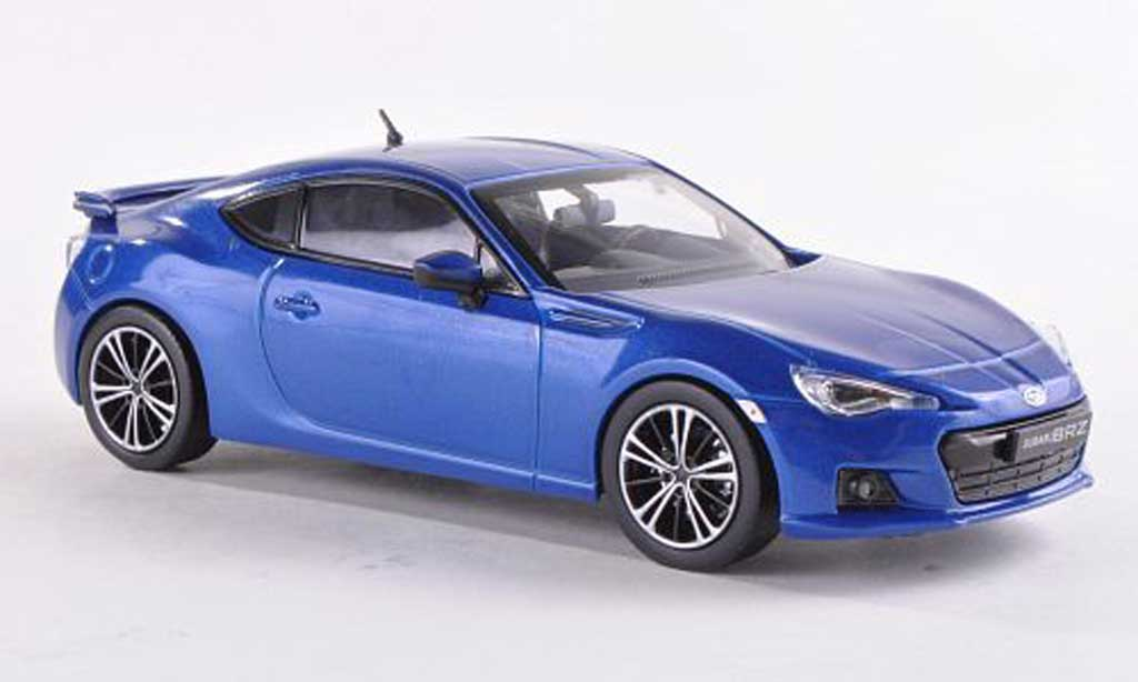 Subaru BRZ 1/43 J Collection bleu 2012 modellautos