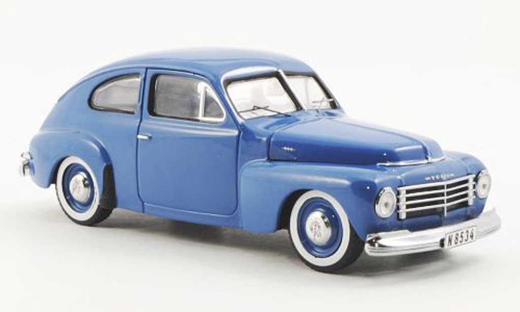 Volvo PV 1/43 Premium X 444 bleu 1944 miniature