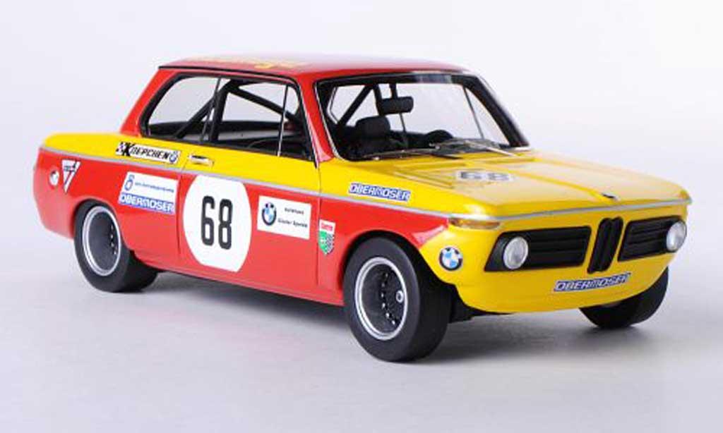 Bmw 2002 Ti 1/43 Neo (E10) No.68 Pneuhage Obermoser DRM 1970 miniature