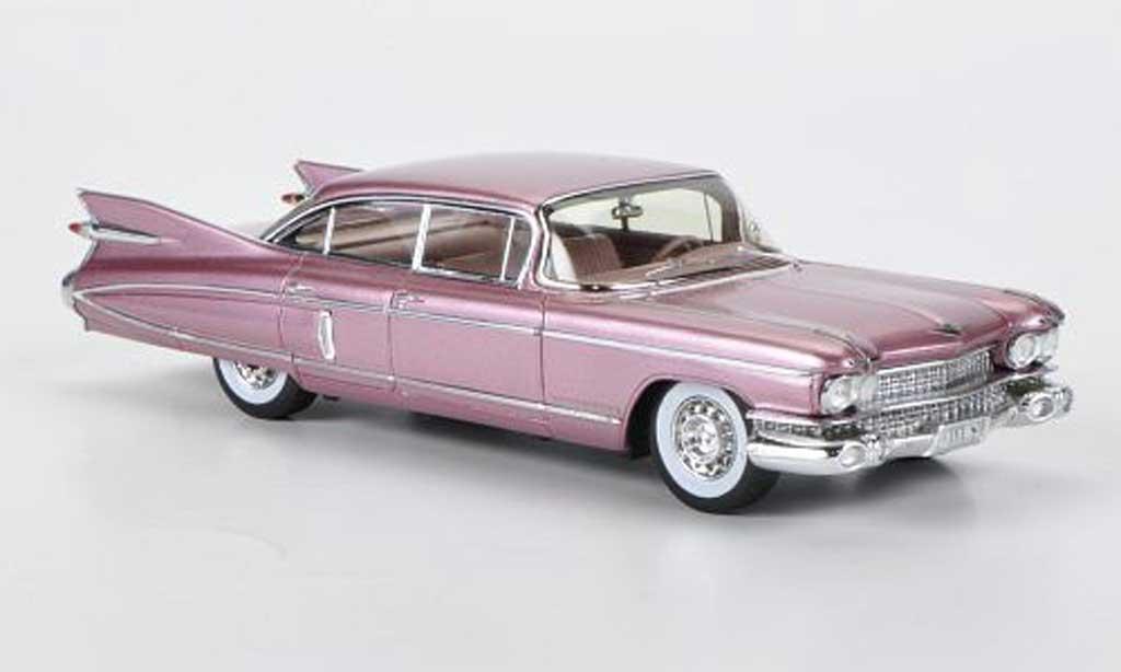 Cadillac Fleetwood Sixty 1/43 Spark Special Sedan altpink Sondermodell MCW L.E. 300 1959 diecast model cars