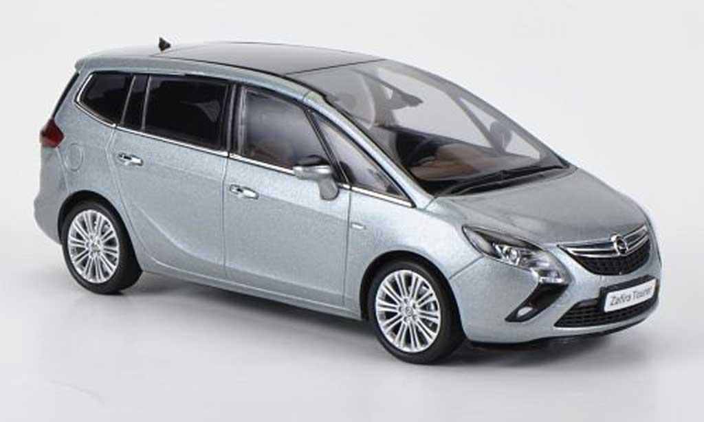 Opel Zafira 1/43 MotorArt Tourer C grise 2012 miniature