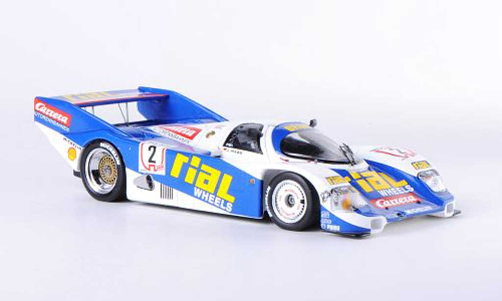Porsche 962 1987 1/43 Spark C No.2 Rial/Carrera J.Mass Nurburgring diecast model cars