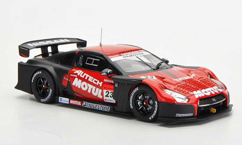 Nissan Skyline R35 1/43 Ebbro GT-R No.23 Motal Autech Super GT500 Okayama Test 2012 miniature
