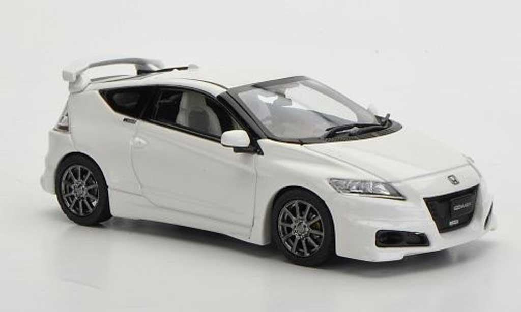 Honda CR-Z 1/43 Ebbro Mugen (NR) blanche miniature
