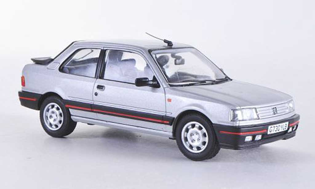 Peugeot 309 GTI 1/43 Vanguards Mk1 grise RHD miniature