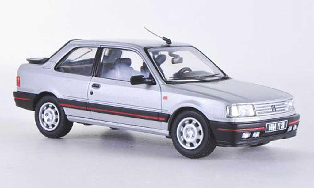 Peugeot 309 GTI 1/43 Vanguards Mk1 grise LHD miniature
