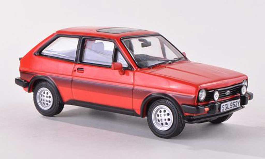 Ford Fiesta XR2 1/43 Vanguards rouge 1981 miniature