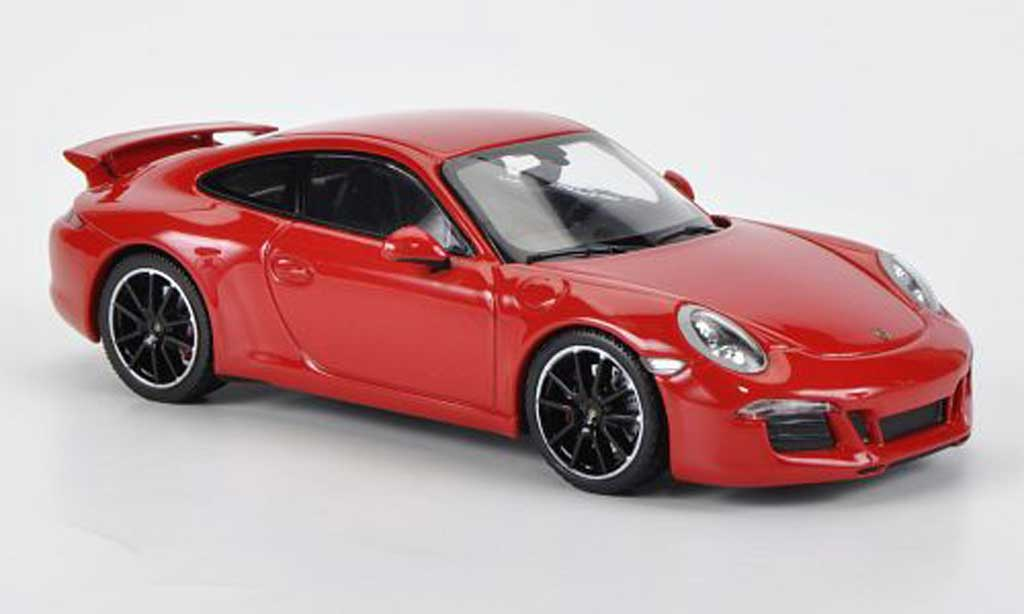 Porsche 991 S 1/43 Minichamps Carrera Aerokit Cup red 2012 diecast model cars
