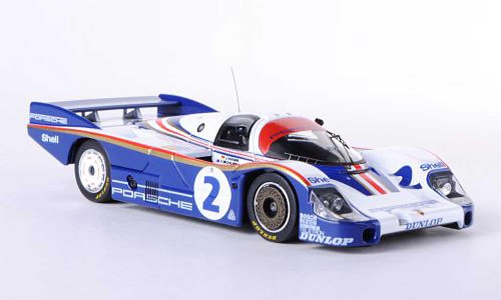 Porsche 956 1982 1/43 HPI No.2 J.Mass / V.Schuppan 24h Le Mans miniature
