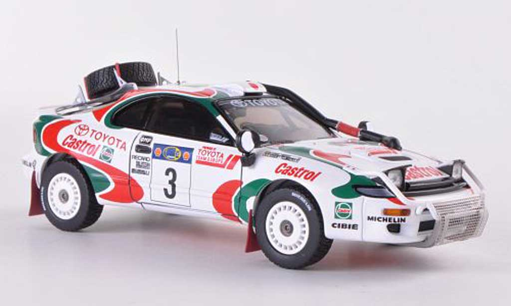 Toyota Celica Turbo 1/43 HPI Turbo 4WD No.3 Castrol Y.Fujimoto / A.Hertz Safari Rally 1995 diecast model cars