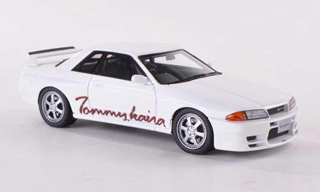 Nissan Skyline R32 1/43 HPI Tommykaira R blanche RHD  miniature