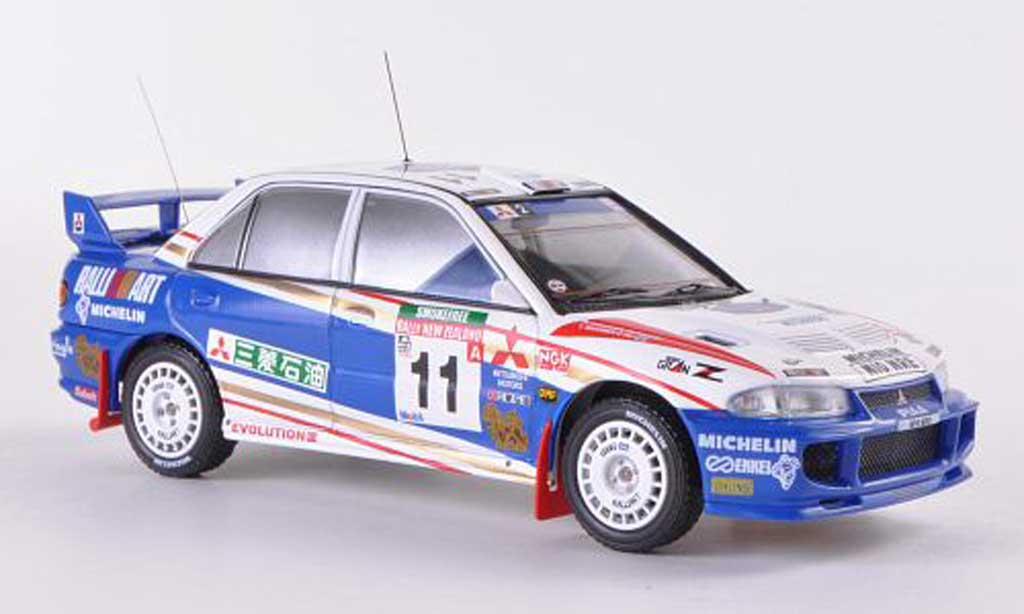 Mitsubishi Lancer Evolution III 1/43 HPI No.11 RalliArt T.Makinen / S.Harjanne Rally Neuseeland  1995 miniature