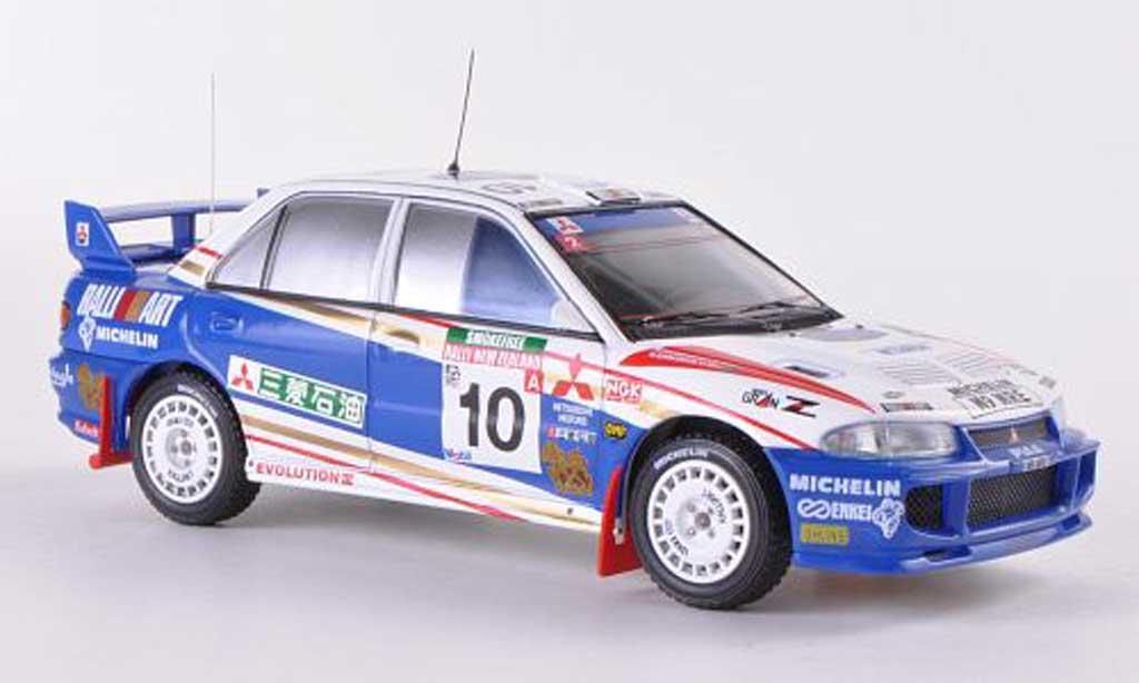 Mitsubishi Lancer Evolution III 1/43 HPI No.10 RalliArt K.Eriksson/S.Parmander Rally Neuseeland  1995 miniature