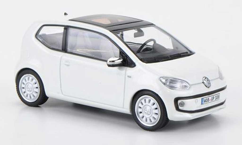 Volkswagen UP! 2011 1/43 Schuco 2011 white blanche