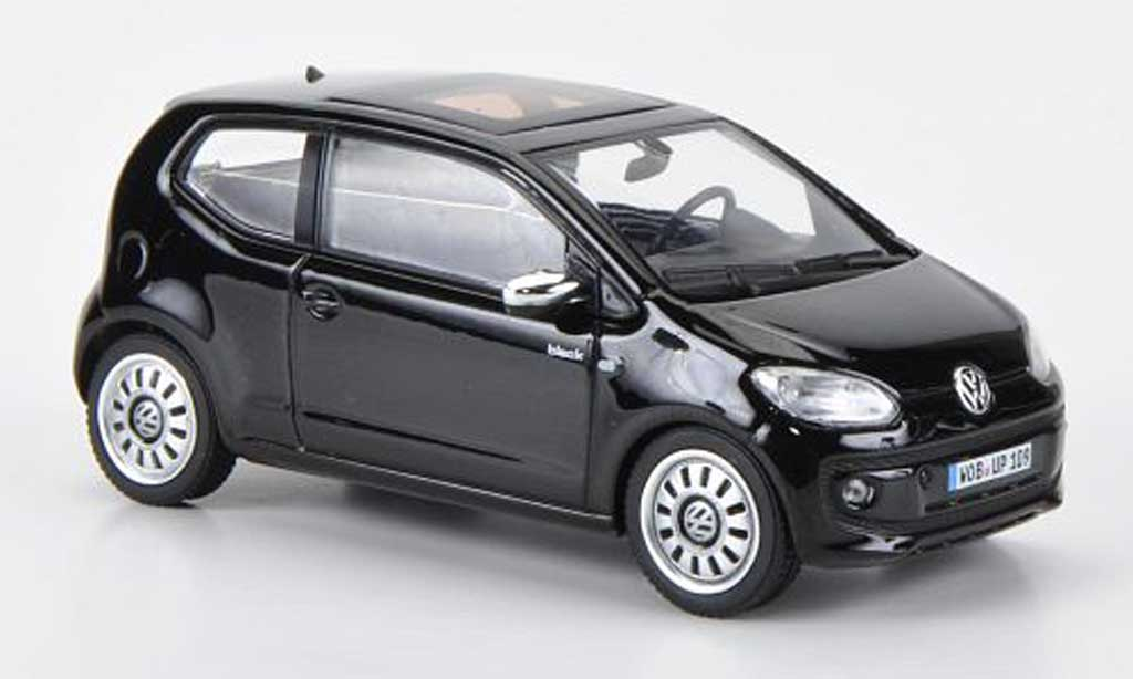 Volkswagen UP! 2011 1/43 Schuco 2011 black noire miniature