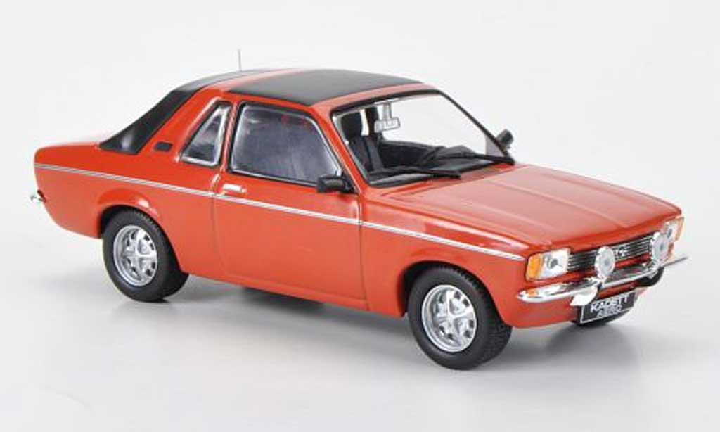 Opel Kadett C 1/43 Hachette Aero red (ohne Magazin) 1978 diecast
